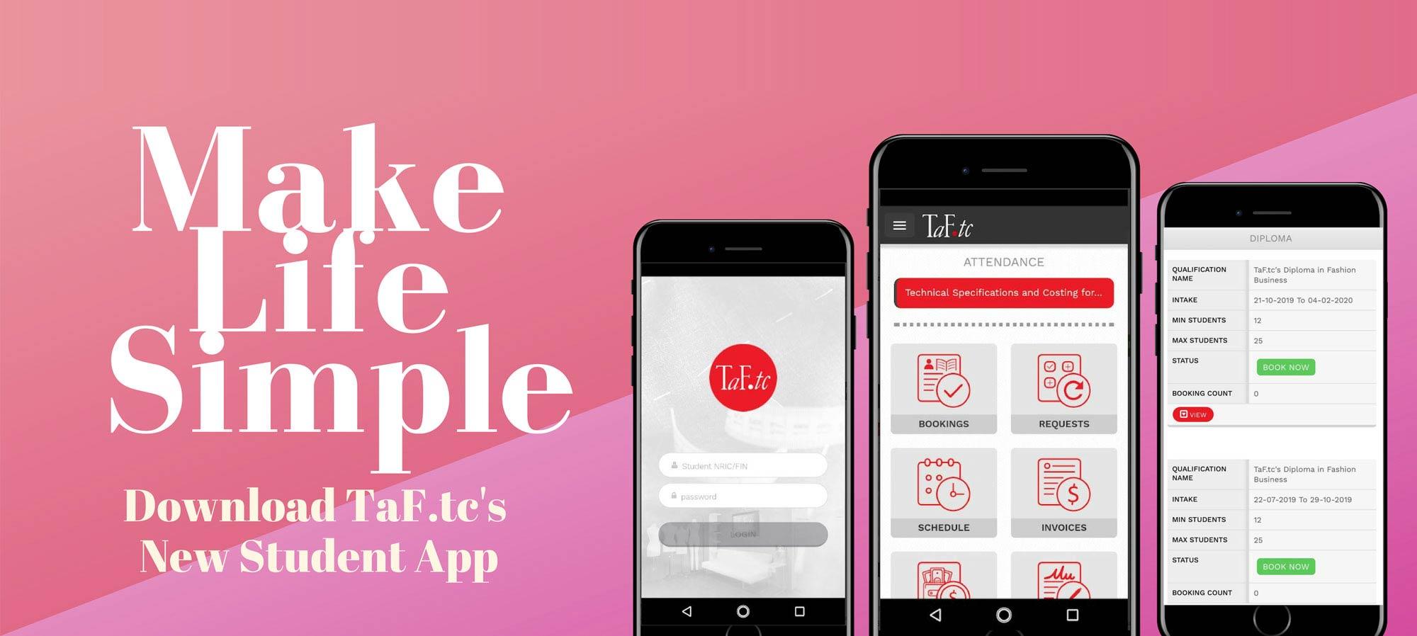 TaF.tc's Student App